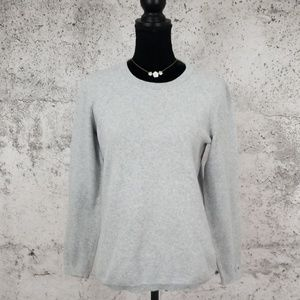 TOMMY HILFIGER Crew Sweater Grey Medium